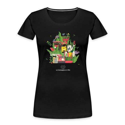 CeV Urban Farm - Women's Premium Organic T-Shirt