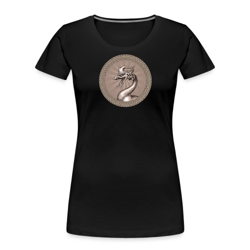 Laughing Dragon - Women's Premium Organic T-Shirt