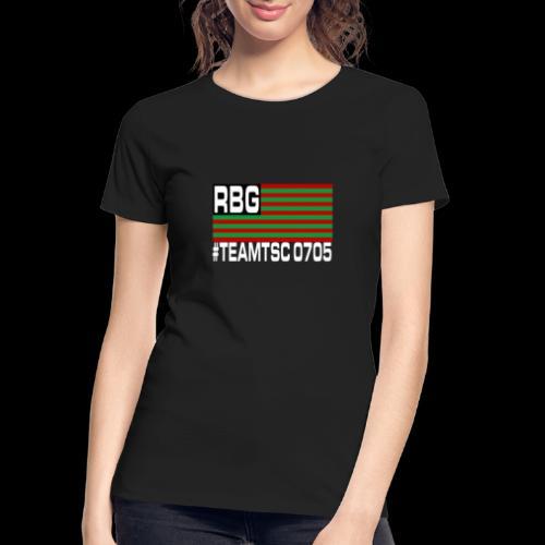TeamTSC RBGFlag 2 - Women's Premium Organic T-Shirt