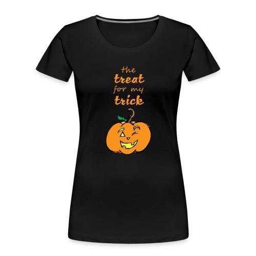 Trick or Treat Maternity - Women's Premium Organic T-Shirt