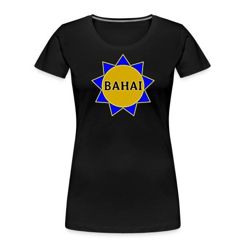 Bahai star - Women's Premium Organic T-Shirt
