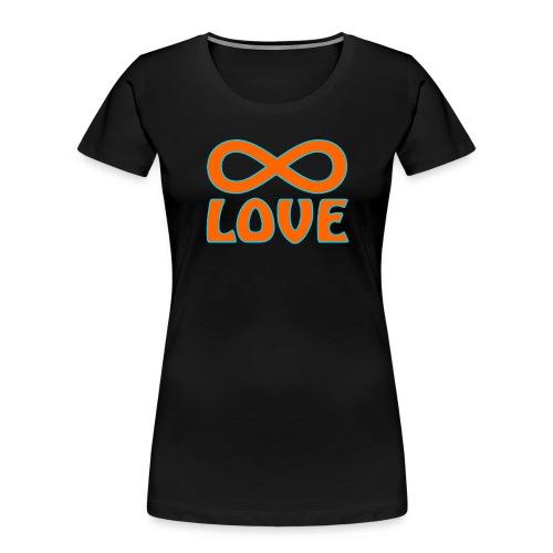 endless love - Women's Premium Organic T-Shirt