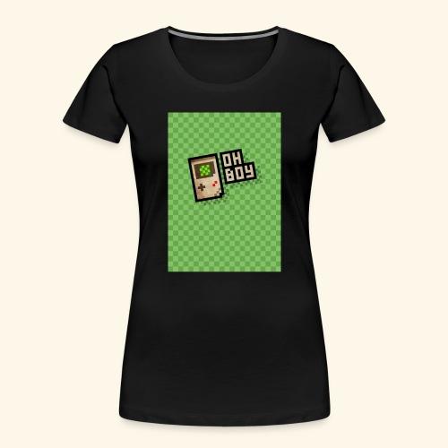 oh boy handy - Women's Premium Organic T-Shirt