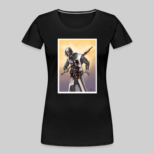 Zombie Crusader - Women's Premium Organic T-Shirt