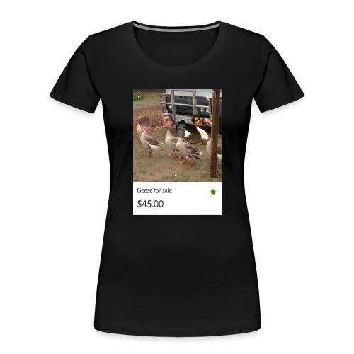 the___gaggle - Women's Premium Organic T-Shirt