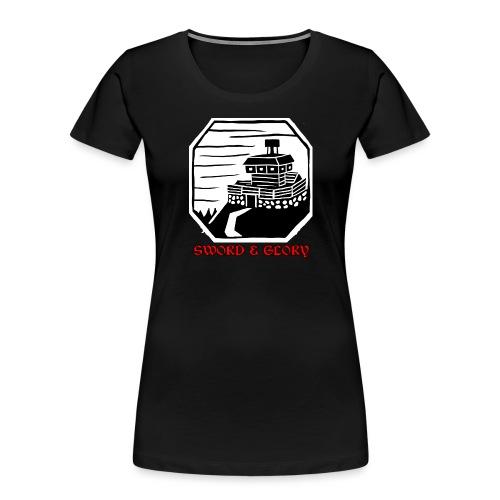 Stag's Peak - Women's Premium Organic T-Shirt