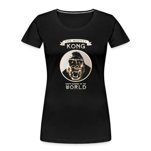 Classic Kong - Women's Premium Organic T-Shirt