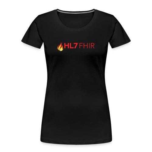 HL7 FHIR Logo - Women's Premium Organic T-Shirt