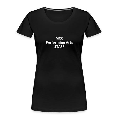 MCC PA STAFF - Women's Premium Organic T-Shirt