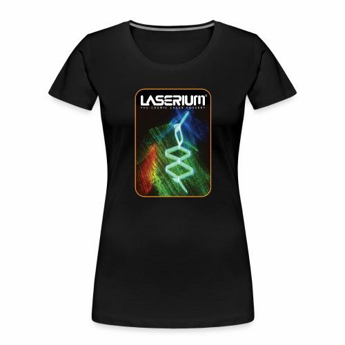 LaseriumDesign001 - Women's Premium Organic T-Shirt