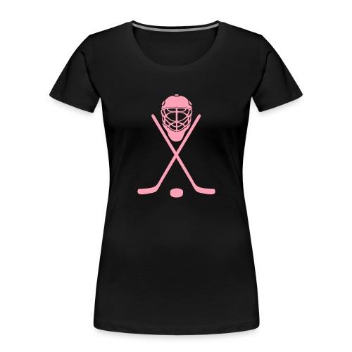 hockey - Women's Premium Organic T-Shirt