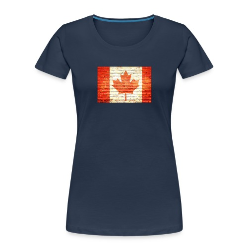 Canada flag - Women's Premium Organic T-Shirt