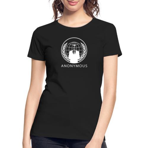 Anonymous 1 - White - Women's Premium Organic T-Shirt