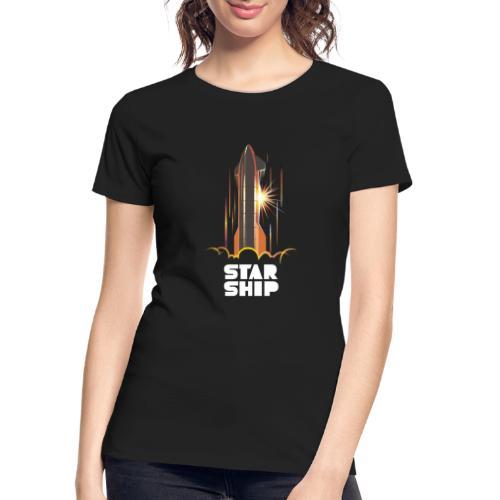 Star Ship Mars - Dark - Women's Premium Organic T-Shirt