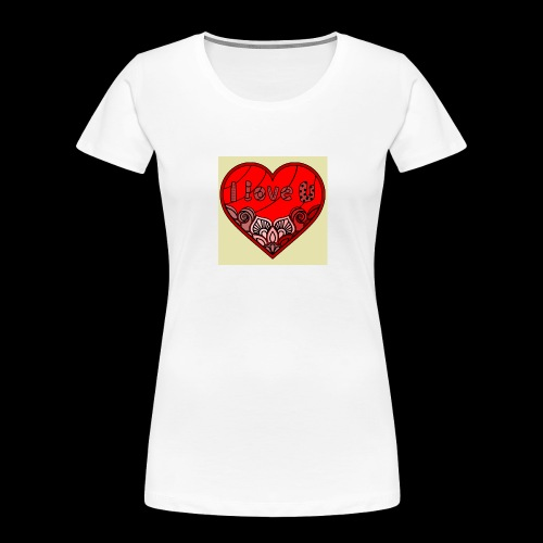 DE1E64A8 C967 4E5E 8036 9769DB23ADDC - Women's Premium Organic T-Shirt