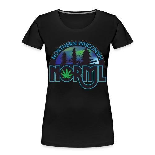 Northern Wisconsin NORML Official Logo - Women's Premium Organic T-Shirt