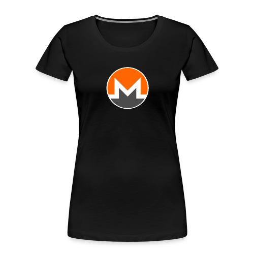 Monero crypto currency - Women's Premium Organic T-Shirt