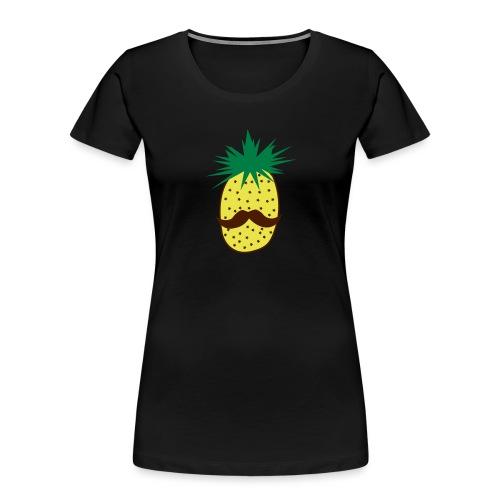 LUPI Pineapple - Women's Premium Organic T-Shirt