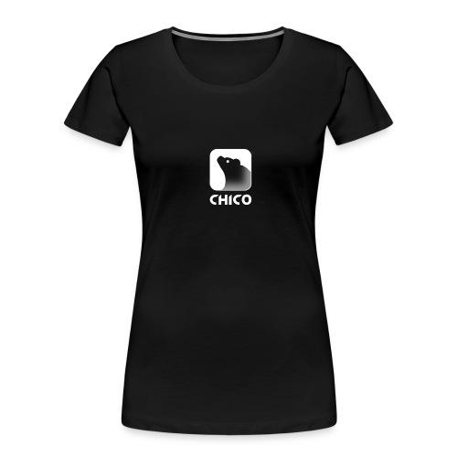 Chico's Logo with Name - Women's Premium Organic T-Shirt