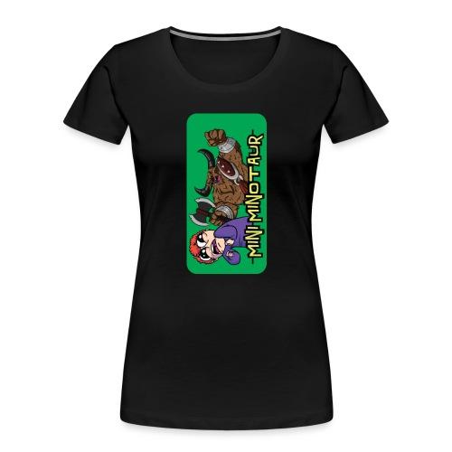 Mini Minotaur iPhone 5 - Women's Premium Organic T-Shirt