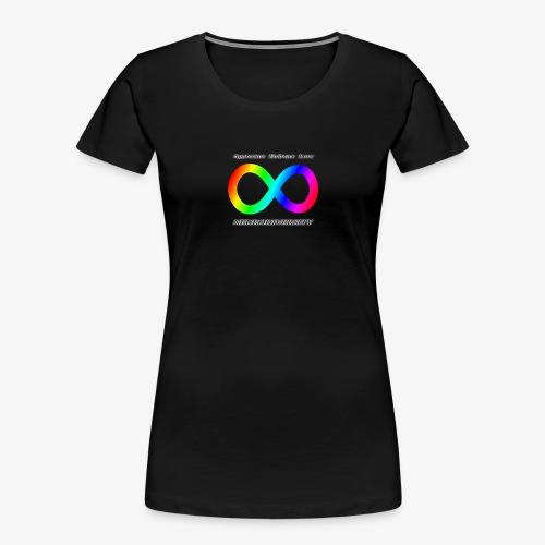 Embrace Neurodiversity - Women's Premium Organic T-Shirt