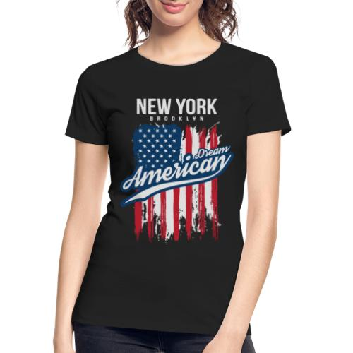 nyc new york brooklyn - Women's Premium Organic T-Shirt