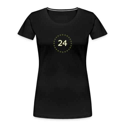 24 stars - Women's Premium Organic T-Shirt