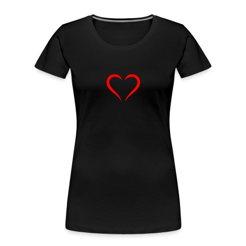 open heart - Women's Premium Organic T-Shirt