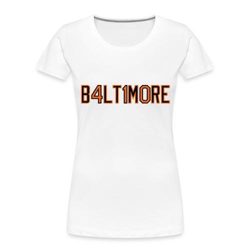 B4LT1M0RE - Women's Premium Organic T-Shirt