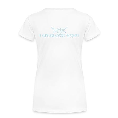 IAMBSF Logo and Text png - Women's Premium Organic T-Shirt