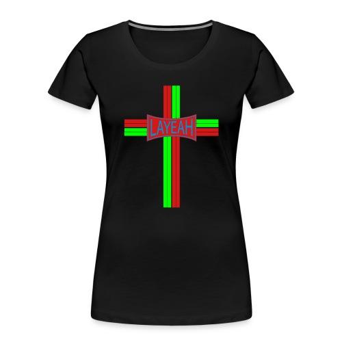 Portugy Cross Three - Women's Premium Organic T-Shirt