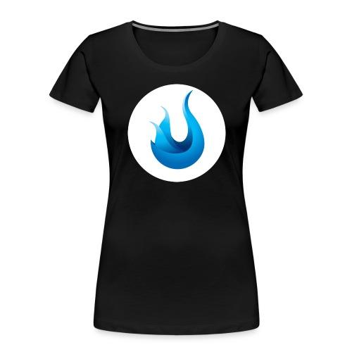 flame front png - Women's Premium Organic T-Shirt