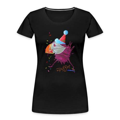 MR. PUFFIN - Women's Premium Organic T-Shirt