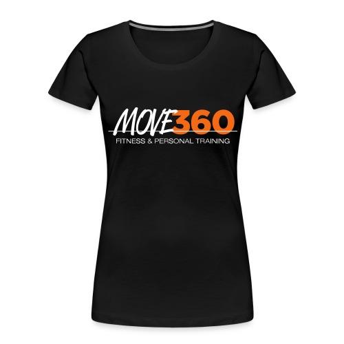 Move360 Logo LightGrey - Women's Premium Organic T-Shirt