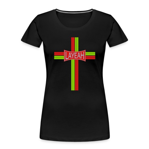 Portugy Cross Three - Women's Premium Organic T-Shirt