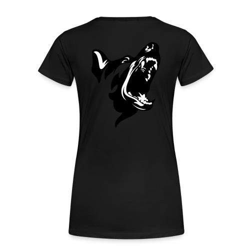 German Shepherd Dog Head - Women's Premium Organic T-Shirt