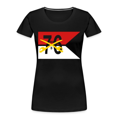 Reagan Battle Flag - Women's Premium Organic T-Shirt