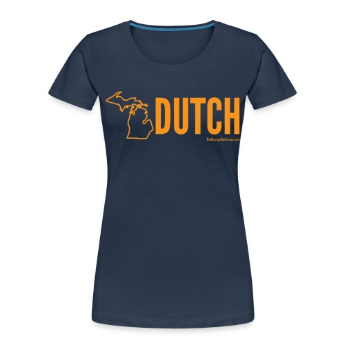 Michigan Dutch (orange) - Women's Premium Organic T-Shirt
