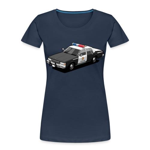 Caprice Classic Police Car - Women's Premium Organic T-Shirt