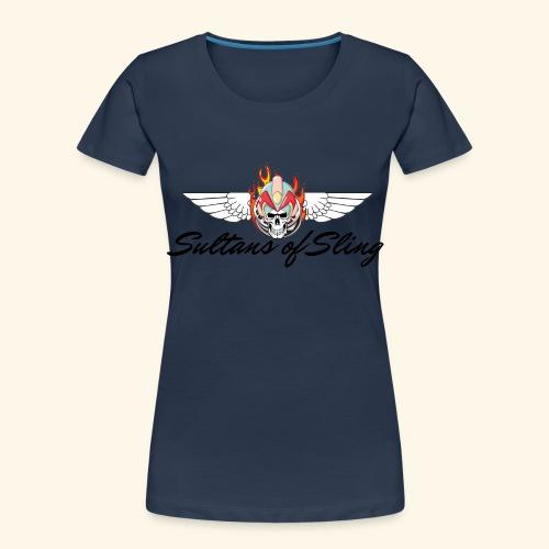 Sultans of Sling Shirt Logo - Women's Premium Organic T-Shirt