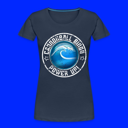 Vintage Tsunami Power-Up Tee - Women's Premium Organic T-Shirt