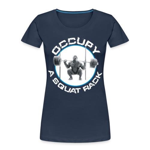 occupysquat - Women's Premium Organic T-Shirt