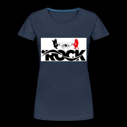 Eye Rock Devil Design - Women's Premium Organic T-Shirt