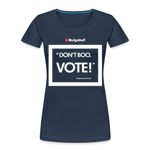 BULGEBULL DONT BOO - Women's Premium Organic T-Shirt