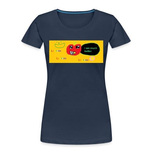 pechy vs apple - Women's Premium Organic T-Shirt