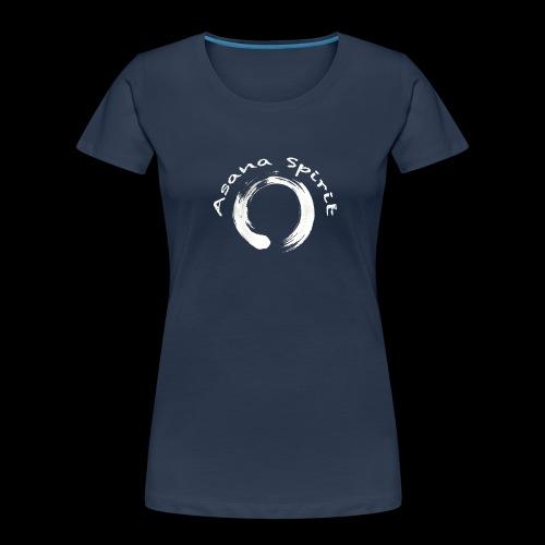 Enso Ring - Asana Spirit - Women's Premium Organic T-Shirt