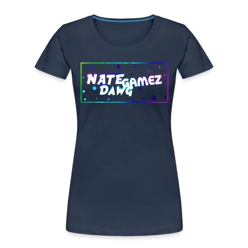 NateDawg Gamez Merch - Women's Premium Organic T-Shirt