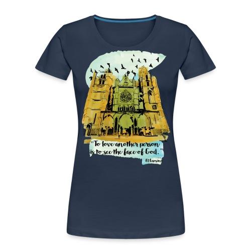 El camino - Women's Premium Organic T-Shirt