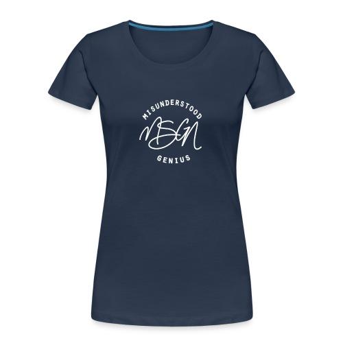MSGN Logo - Women's Premium Organic T-Shirt