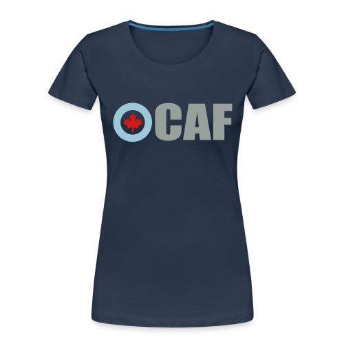 Canadian Air Force - Women's Premium Organic T-Shirt